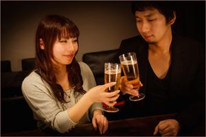 熟女とお酒デート